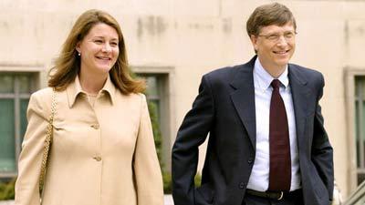 Anak-anak Bill Gates dan Melinda Gates hanya dapat 10 Juta US Dollar