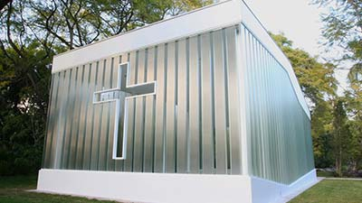 La Estancia Glass Chapel