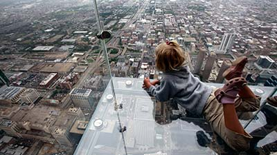Sears Tower Glass Balconies