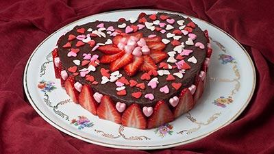 kue dan coklat
