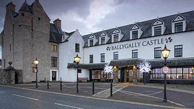 ballygally castle hotel larne