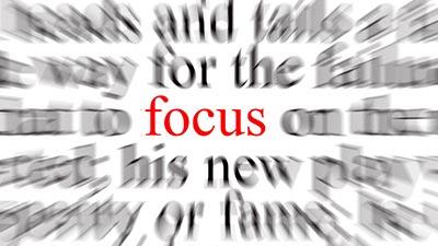 fokus dengan tujuan