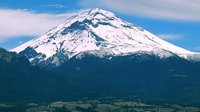 gunung popocatepetl