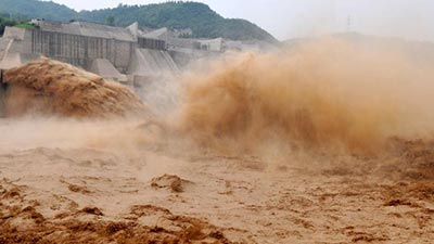 yellow river flood