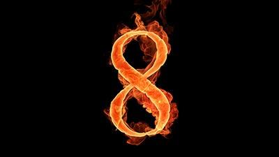 angka 8