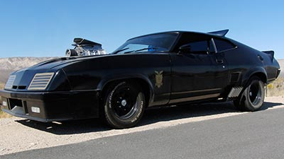 Customized Ford Falcon XB Interceptor