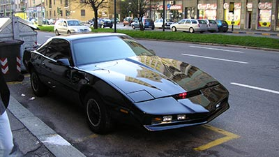 Customized Pontiac Trans AM