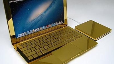 MacBook Pro 24 Karat Gold