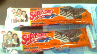 Wafer Superman