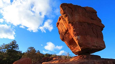 balanced rock colorado