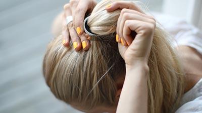 hair tying