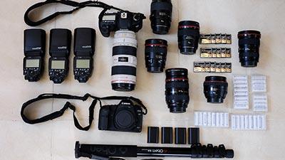 kelengkapan kamera