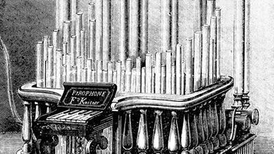 pyrophone organ