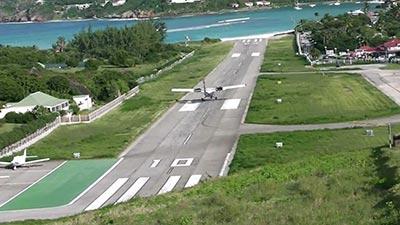 Gustaf III St Bart Airport