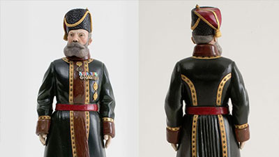 A figurine ordered by Nicholas II