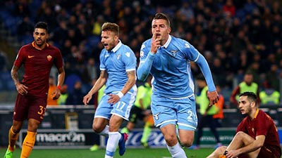 AS Roma and Lazio