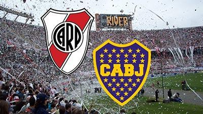 Boca Juniors and River Plate