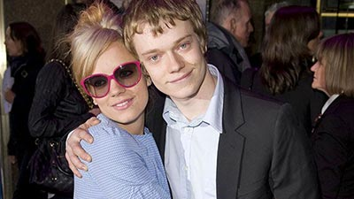 Lily Allen and Alfie Allen