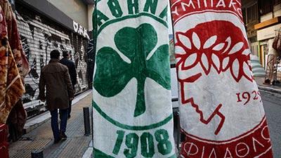 Olympiacos and Panathinaikos