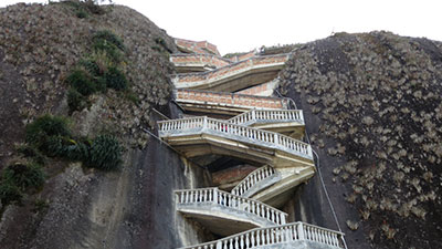Rock of Guatapé Staircase