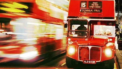 The Phantom Bus Of London
