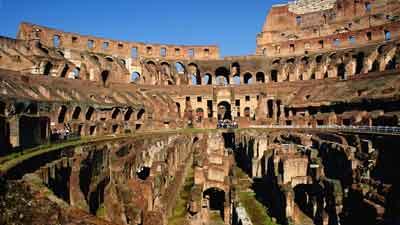 Rome Colosseum, Itali