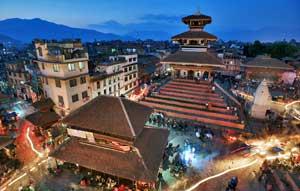 Pemandangan negara Nepal
