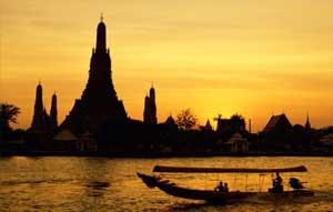 pemandangan thailand