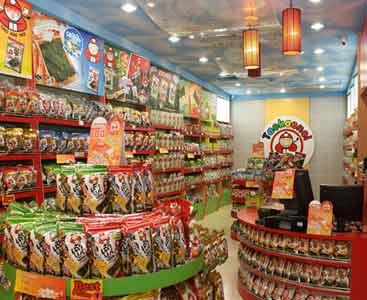 Produk Tao Kae Noi di Pasaran Toko-toko