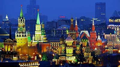 Ibukota rusia - moscow