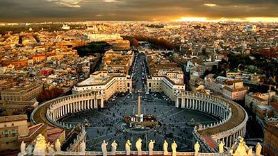 Vatican ibukota dari Roma