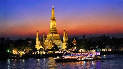 Bangkok di malam hari
