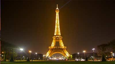 Eiffel Tower di Paris