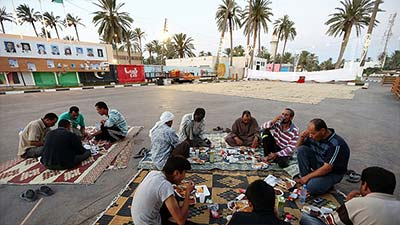 Libya people ramadhan