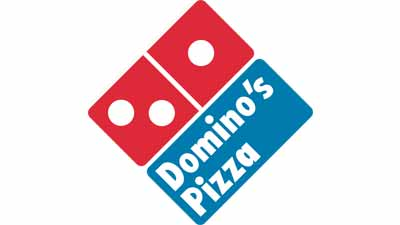 Logo restoran pizza Domino