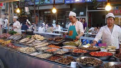 makanan jalanan china