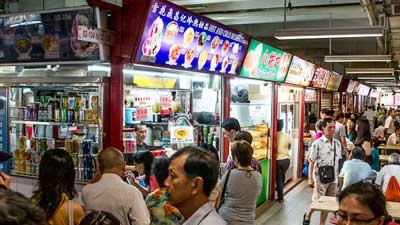 makanan jalanan singapore