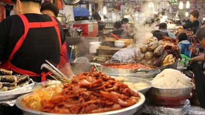 makanan jalanan korea selatan