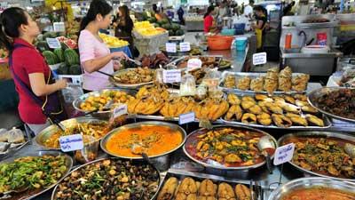 makanan jalanan thailand