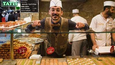 makanan jalanan turkish di istanbul