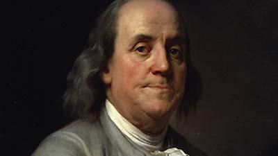 Benjamin Franklin salah satu dari bapak pendiri amerika dan penemu