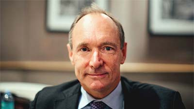 penemu dari world wide web Tim Berners lee