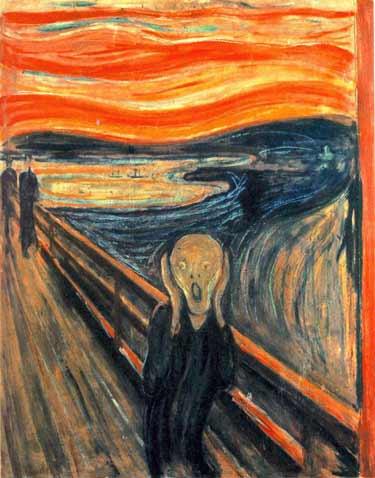 the scream Lukisan Paling Mengerikan di Dunia