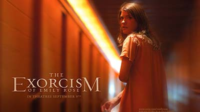 Cover film of The exorcism of emily rose