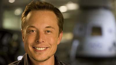 Elon musk pendiri dari SpaceX dan Tesla