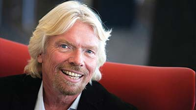 Richard Branson pendiri dari Virgin Group