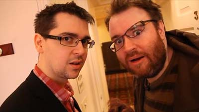 Lewis Brindley dan Simon Lane , yogscast