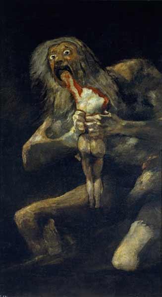 saturn Lukisan Paling Mengerikan di Dunia
