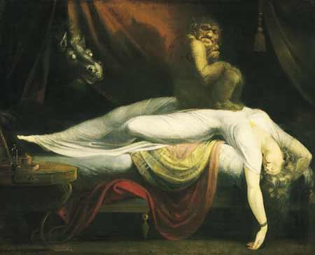 the nightmare Lukisan Paling Mengerikan di Dunia
