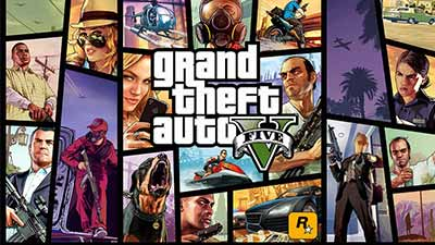 Grant Theft Auto V cover game